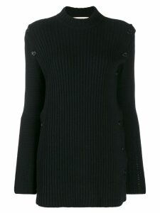 Marni side slit sweater - Black