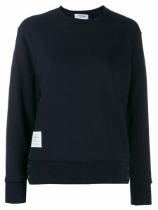 Thom Browne Striped Sweatshirt - Blue