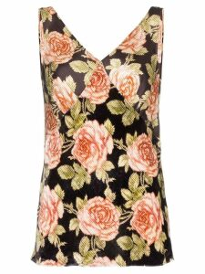 Paco Rabanne floral print blouse - V007 MULTICOLOURED