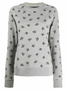 Marc Jacobs logo branded sweatshirt - Grey