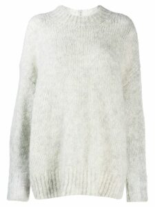 Isabel Marant oversize knitted sweater - Grey