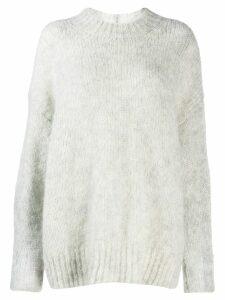 Isabel Marant oversize knitted sweater - Grey