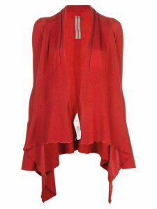 Rick Owens fine knit cardigan - Red