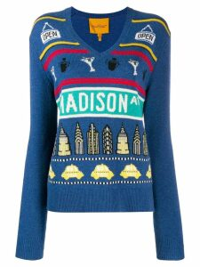 Marc Jacobs Madison Ave jumper - Blue