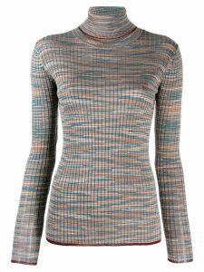 M Missoni Slub turtle neck sweater - Grey