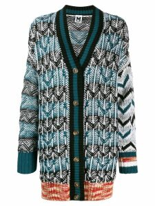 M Missoni oversized cardigan - Blue
