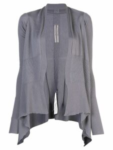 Rick Owens medium wrap cardigan - Blue