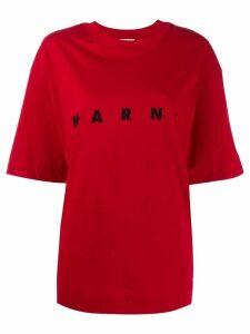 Marni logo T-shirt - Red