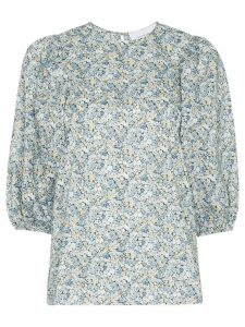 Les Rêveries Liberty Chive floral print top - LIBEERTY CHIVE