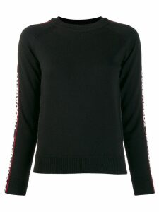 Dsquared2 side logo band jumper - Black