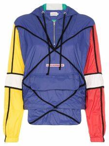 Charles Jeffrey Loverboy colour-block windbreaker jacket - Multicolour