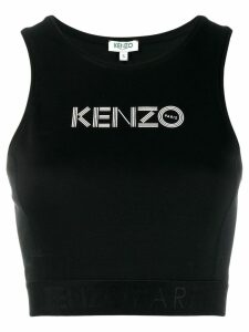 Kenzo logo tank top - Black