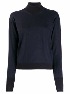 Golden Goose roll neck jumper - Blue