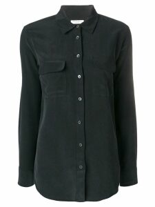 Equipment signature slim fit shirt - Black