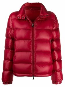 Moncler short down filled jacket - Red