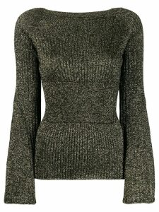 Pinko boat neck sweater - Black
