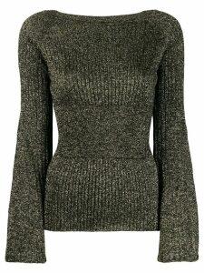 Pinko boat neck sweater - Black