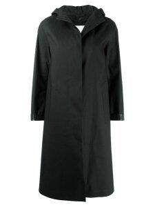 Mackintosh CHRYSTON Black Bonded Cotton Hooded Coat LR-1002D
