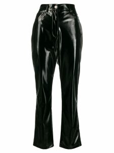 MSGM straight-leg trousers - Black