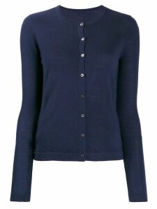 Sottomettimi merino wool knitted cardigan - Blue