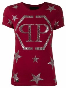Philipp Plein starts T-shirt - Red