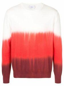 Ports V ombré sweatshirt - Red