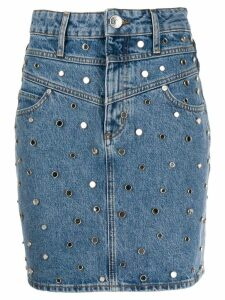 Sandro Paris Avea skirt - Blue