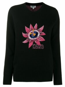 Kenzo Passion Flower jumper - Black