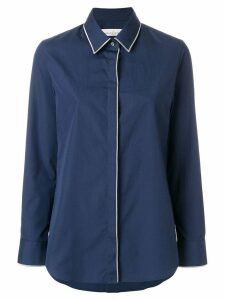 Golden Goose piped trim shirt - Blue