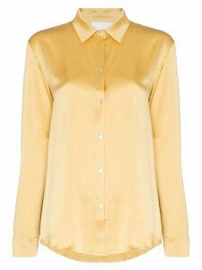Asceno pyjama-style shirt - Yellow