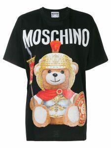 Moschino Teddy Gladiator print T-shirt - Black