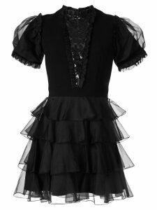 Macgraw Chapter ruffled dress - Black