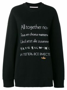 Stella McCartney All Together Now sweatshirt - Black