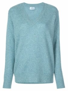 Prada cashmere v-neck sweater - Grey