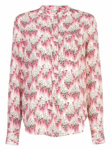 Isabel Marant printed button-up shirt - Red
