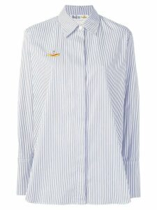 Stella McCartney All Together Now striped shirt - White