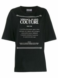 Versace Jeans Couture logo T-shirt - Black