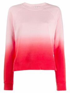Proenza Schouler White Label tie-dye gradient sweatshirt - PINK