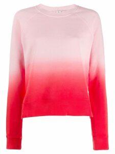 Proenza Schouler gradient effect sweatshirt - Pink