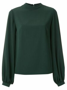 Olympiah mock neck blouse - Green