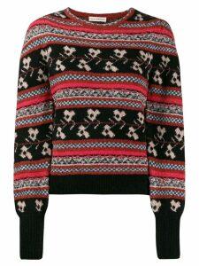 Ulla Johnson Nona patterned jumper - Red