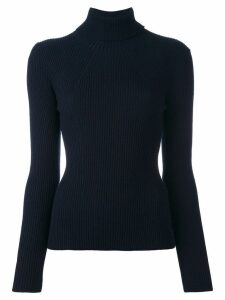 3.1 Phillip Lim ribbed roll neck jumper - Blue