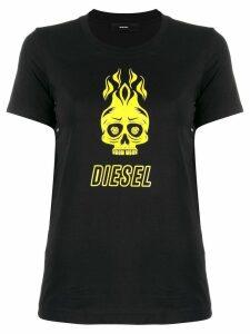 Diesel T-Sily-WQ T-shirt - Black