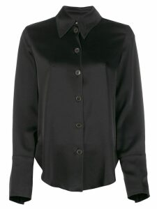 Nanushka satin shirt - Black