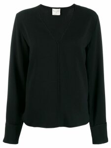 Forte Forte V-neck blouse - Black