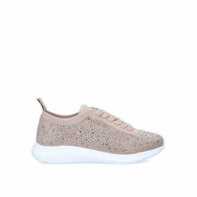 Miss KG Kathy - Pink Embellished Trainers