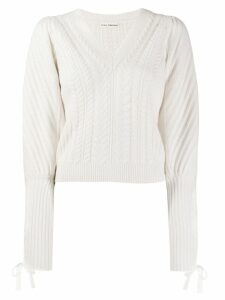 Ulla Johnson slim-fit Brisa jumper - NEUTRALS
