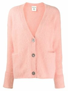 Semicouture oversized cardgian - PINK