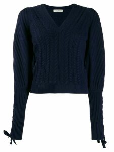 Ulla Johnson slim-fit Brisa pullover - Blue
