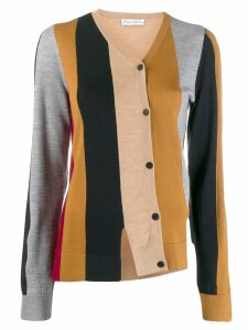 JW Anderson panelled cardigan - Brown
